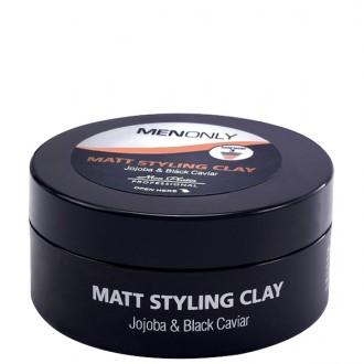 Mon Platin matný ílový vosk pre mužov s čiernym kaviárom 85ml