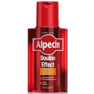 ALPECIN Double Effect kofeínový šampón pre mužov proti lupinám a vypadávaniu vlasov 200ml