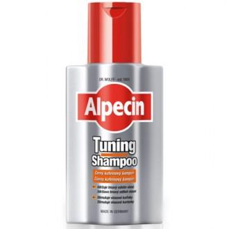 ALPECIN Tuning Shampoo Čierny kofeínový šampón 200ml