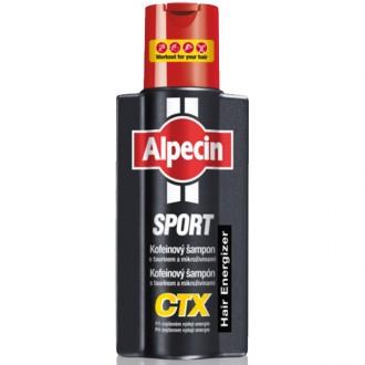 ALPECIN Sport Kofeínový šampón CTX 250ml