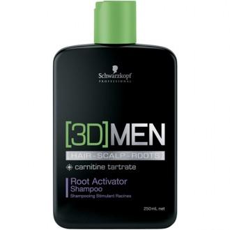 Schwarzkopf 3D MEN Root Activator Šampón 250ml