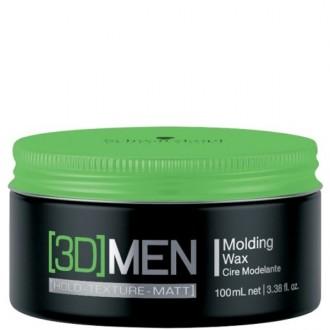 Schwarzkopf 3D MEN Molding Wax Tvarujúci vosk 100ml