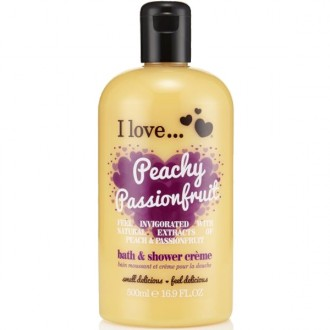 I Love Sprchový gél a pena do kúpeľa Peachy Passionfruit 2V1 500ml