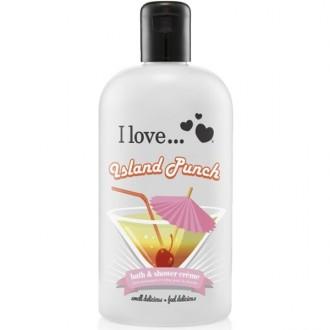 I Love Sprchový gél a pena do kúpeľa Island Punch 2V1 500ml