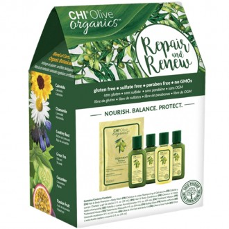 CHI Olive Organics Repair & Renew kit 5x59ml