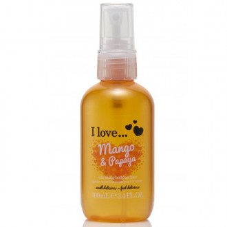 I Love Telový sprej Mango and Papaya 100ml