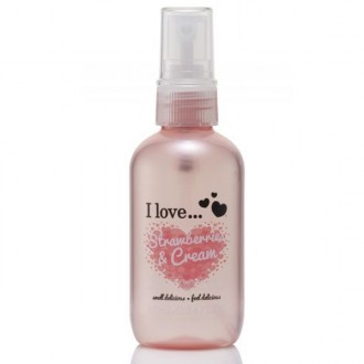 I Love Telový sprej Strawberries and Cream 100ml
