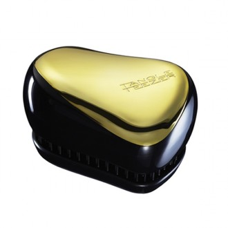 Tangle Teezer Compact  Black & Gold