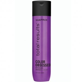 MATRIX Total Results Color Obsessed Šampón pre žiarivú farbu 300ml