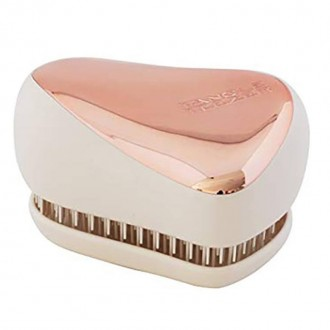 Tangle Teezer Compact Rose Gold Cream