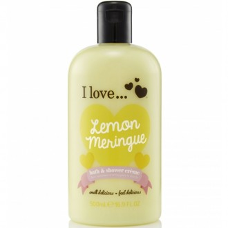 I Love Sprchový gél a pena do kúpeľa Lemon Maringue 2V1 500ml