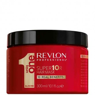 Revlon Uniq One Super 10R Hair mask Regeneračná maska na vlasy 300ml