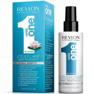 Revlon Uniq One Lotus Flower Hair Treatment Lotosová bezoplachová kúra 10v1 150ml