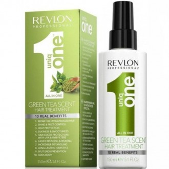 Revlon Uniq One Green Tea Scent Hair Treatment Bezoplachová kúra so zeleným čajom 10v1 150ml