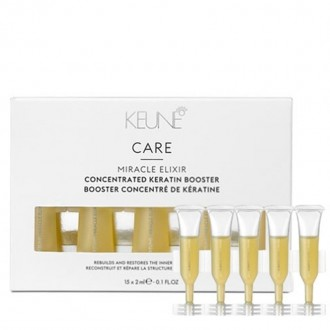 KEUNE CARE MIRACLE ELIXÍR Koncentrovaný keratínový booster 15x2ml