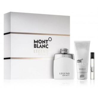 MONT BLANC Legend Spirit - EDT 100 ml + balzám po holení 100 ml + EDT 7,5 ml darčeková sada